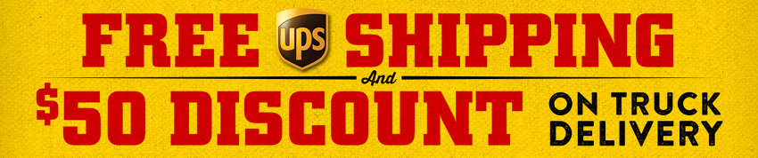 Free UPS Shipping | $50 Discount on Truck Delivery - Tractor Supply Co.