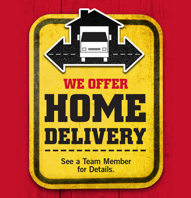 Home Delivery - Tractor Supply Co.