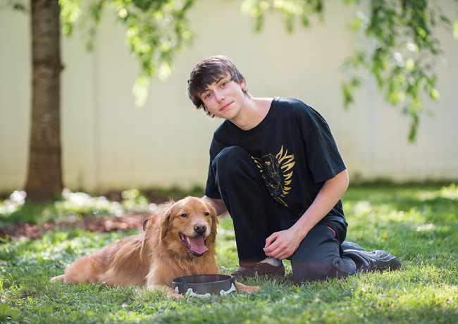 Teenager raises funds to fight cancer in Golden Retrievers - Tractor Supply Co.