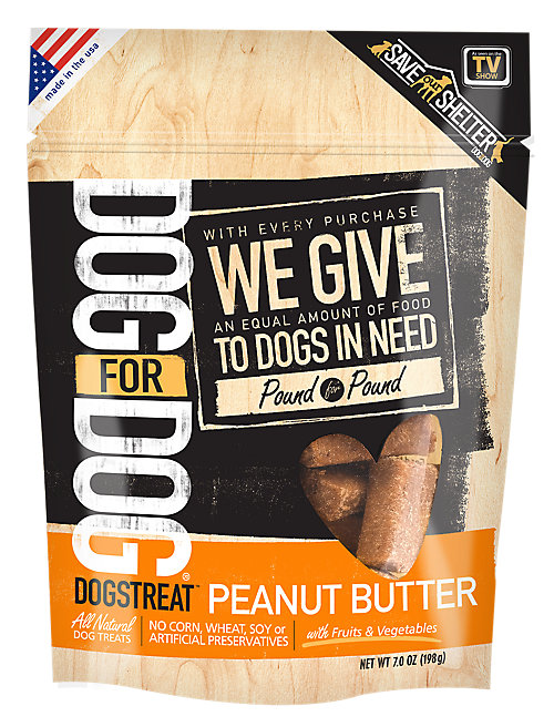 DOG FOR DOG DOGSTREAT, PEANUT BUTTER