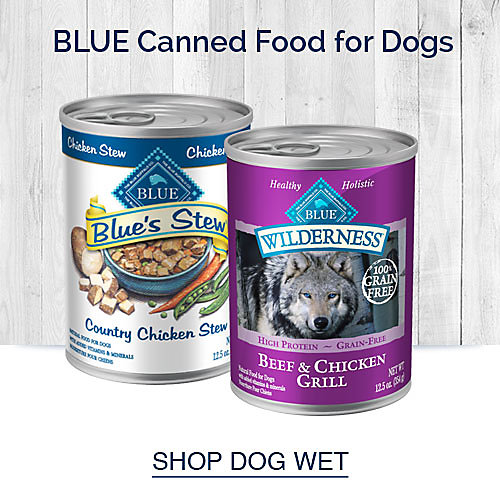 Blue Canned Food for Dogs