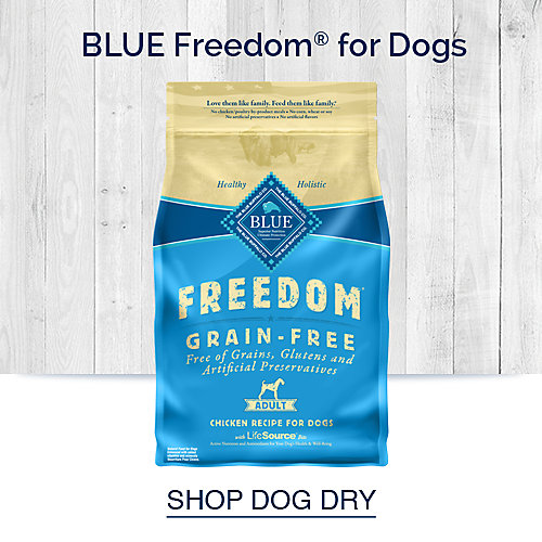 Blue Freedom for Dogs