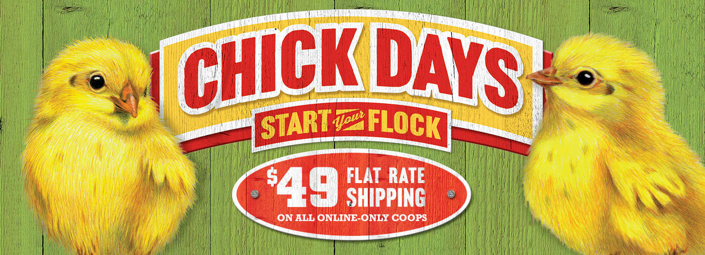 Shop Chicken Coops during Chick Days - Tractor Supply Co.