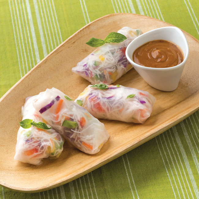 Fresh Herb Spring Rolls - Tractor Supply Co.