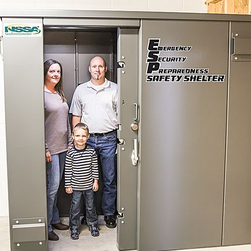 swisher esp safety shelter
