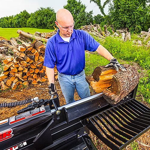 swisher log splitters