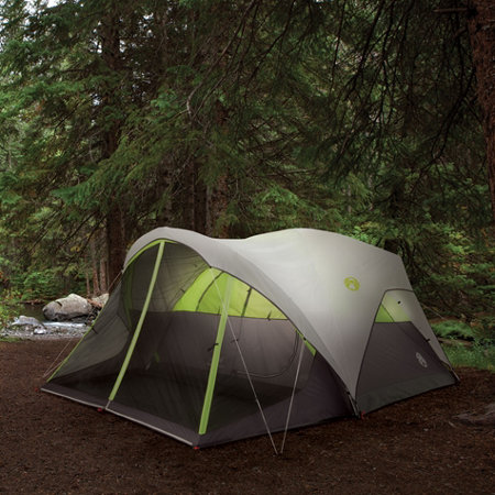 Coleman Fast Pitch 6-Man Dome Tent with Screened Room - Tractor Supply Co. & Camping With Dogs | Tractor Supply Co.