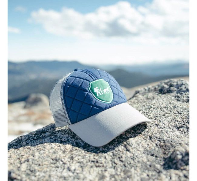Camping with Dogs Trucker Hat