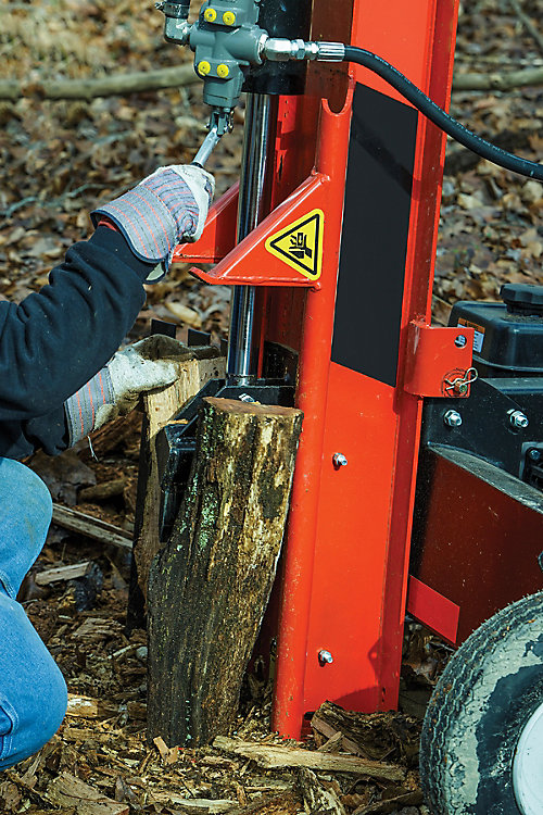 Choosing A Log Splitter Tractor Supply Co
