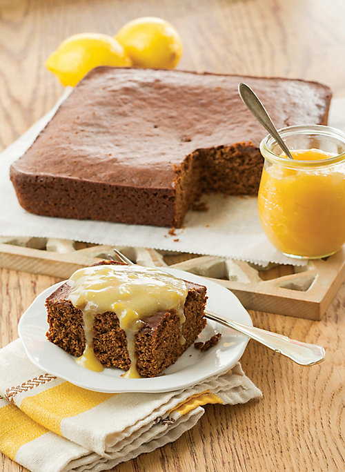 Soft Gingerbread with Tangy Lemon Sauce - Tractor Supply Co.