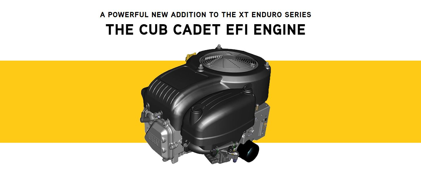 Cub Cadet EFI Engine - Tractor Supply Co.