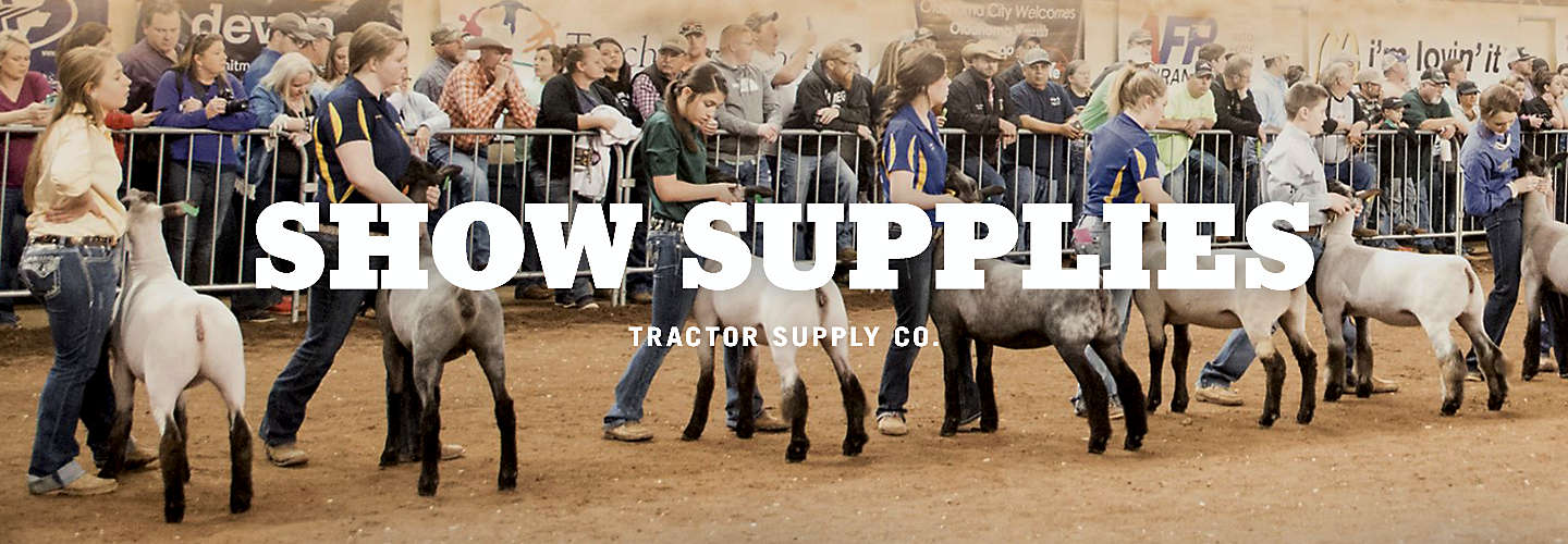 Horse and Livestock Show Supplies | Tractor Supply Co