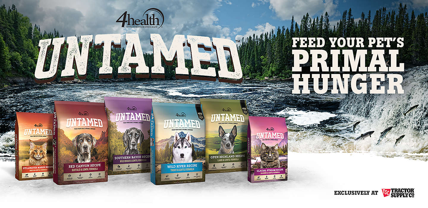 Untamed Pet Food. Feed your pet's primal hunger.