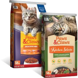 Shop 36 lb. Value Size Paws & Claws Cat Food at Tractor Supply Co.