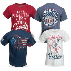Shop Select Men's and Women's Graphic Tees at Tractor Supply Co.