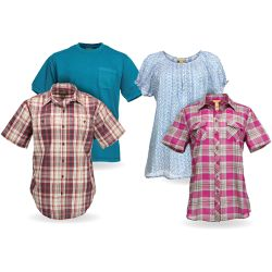 Shop Select Men's and Women's Short Sleeve Shirts at Tractor Supply Co.
