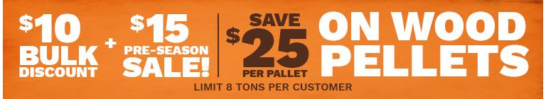 Save $25 On Wood Pellets - Tractor Supply Co.