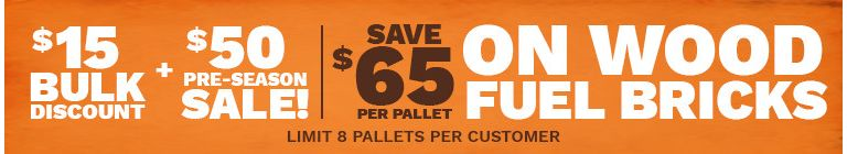 Save $65 On Wood Fuel Bricks - Tractor Supply Co.