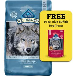Shop Buy Any 22 lb. or Larger Bag of Blue Buffalo Wilderness at Tractor Supply Co.