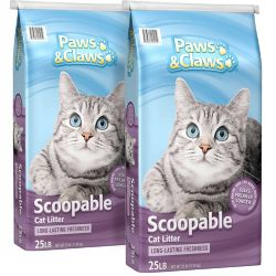 Shop  25 lb. Paws & Claws Scoopable Cat Litter at Tractor Supply Co.
