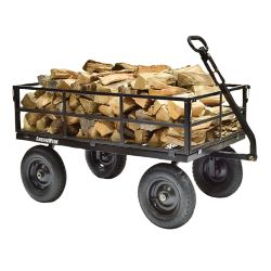 Shop GroundWork 1400 lb. Steel Utility Cart at Tractor Supply Co.
