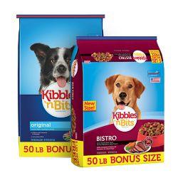 Shop 50 lb. Bonus Bag Kibbles 'n Bits Dry Dog Food at Tractor Supply Co.