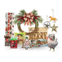Shop Select Christmas Decor, Gift Wrap, Ornnaments, Boxed Cards & Lighted Décor at Tractor Supply Co.