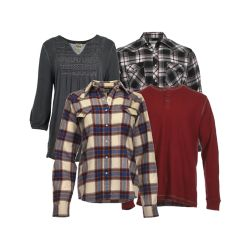 Shop Select Men's & Women's Long Sleeves Shirts & Flannels at Tractor Supply Co.