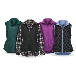 Shop Women's Bit & Bridle Quilted Vests at Tractor Supply Co.
