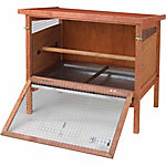 ChickenWARE Heavy-Duty Chick-N-Hutch, 2-4 Chicken Capacity