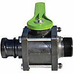 Green Leaf® Xtra Small Steel Handled 4 Bolt Valve, 2 in.