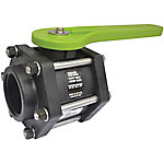 Green Leaf® Xtra Small Steel Handled 6 Bolt Valve, 2 in.