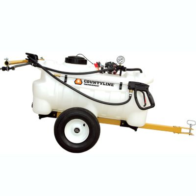 COUNTYLINE® DELUXE TRAILER SPRAYER WITH BOOM, 25 GAL.