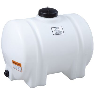 how to clean out a plastic water tank