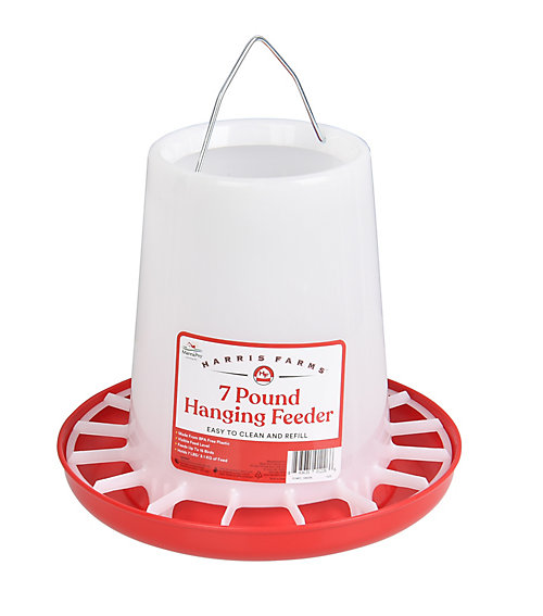 7 LB. Hanging Plastic Poultry Feeder - Tractor Supply Co.