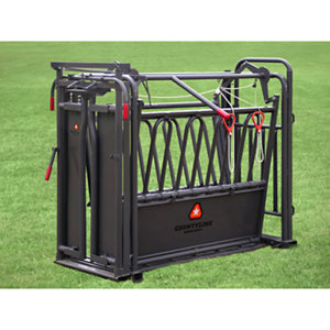 Countyline Standard Auto Squeeze Cattle Chute At Tractor