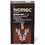 Ivomec® (Ivermectin) Pour-On for Cattle, 250 mL