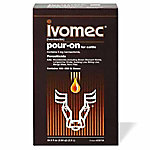 Ivomec® (Ivermectin) Pour-On for Cattle, 2.5 L