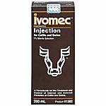 Ivomec® (Ivermectin) 1% Injection for Cattle & Swine, 200 mL