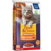 Paws & Claws Brand Quality Wet And Dry Cat Food