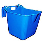 Double-Tuf™ Hook'n Feed Bucket, 14 qt., Blue