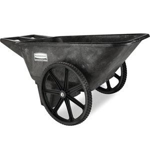 Rubbermaid 5642 Big Wheel Farm Cart 7 1 2 Cu Ft At