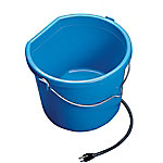 Allied Precision Heated Flatback Bucket, 5 gal.