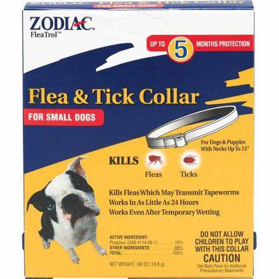Zodiac Flea & Tick Collar for Small Dogs