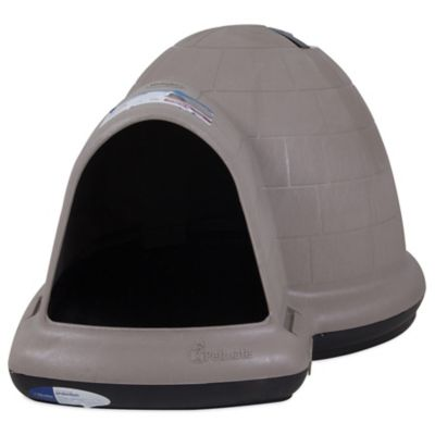 Petmate Doghouse with Microban, Large