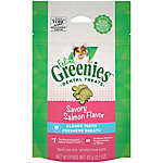 Greenies® Feline Dental Treat, Savory Salmon, 2.5 oz.
