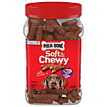 Milk Bone® Beef & Filet Mignon Recipe Soft & Chewy Snacks for Dogs, 25 oz.
