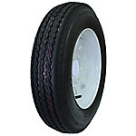 Hi-Run ASB1055 5.30-12 in. 6 Ply on 12 x 4 in. 5-4.5 Galvanized Spoke Replacement Wheel