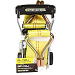 SmartStraps® 2 in. W x 25 ft. L Yellow Standard Double J-Hook Ratchet, 1,667 lb. Safe Work Load