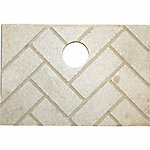 United States Stove 891139 Herringbone Ceramic Brick